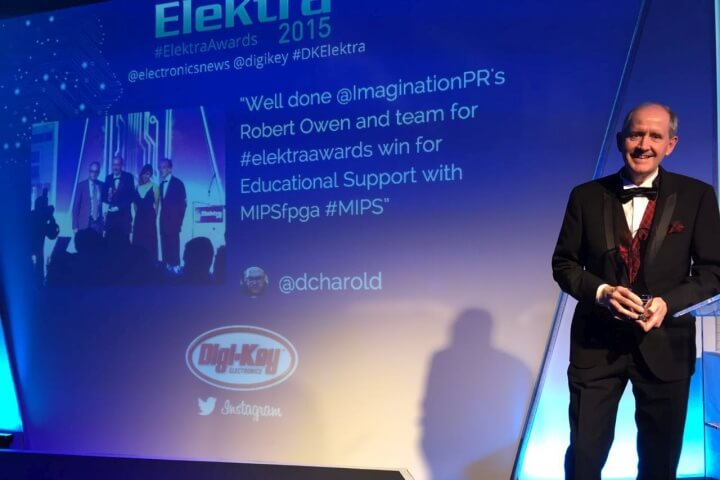Elektra Educational Support Award, Imagination Technologies, 2015