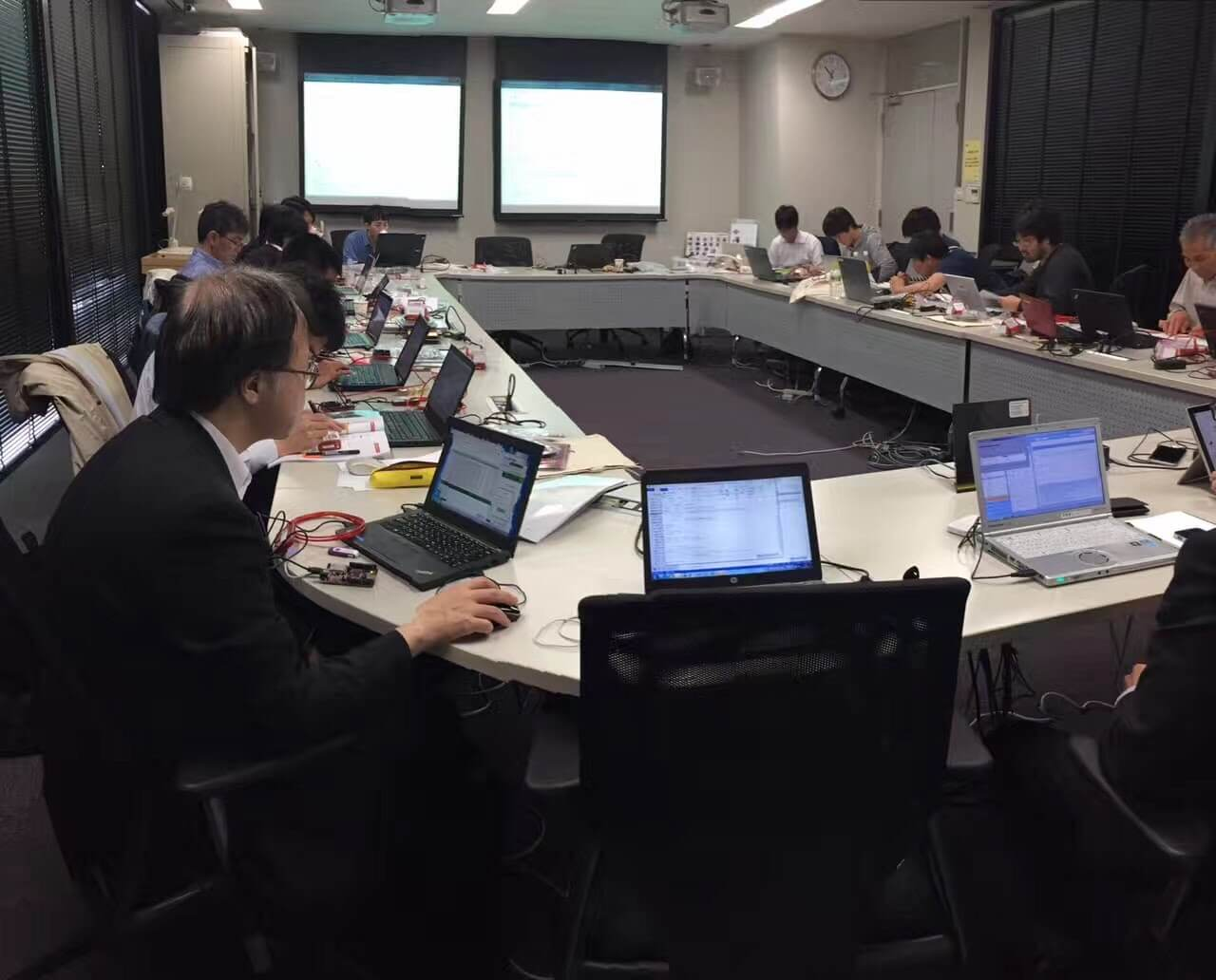 Connected MCU Lab workshop in Japan, April 2017