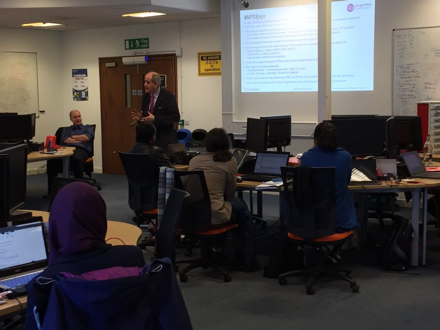 Imagination University Programme MIPSfpga Workshop at Imperial College, January 2016