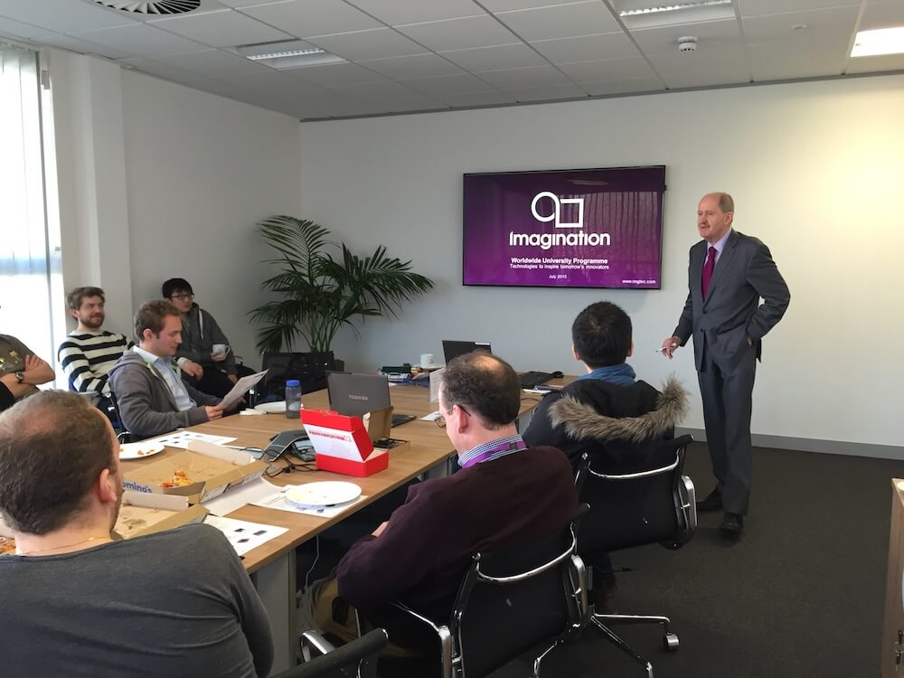 Lunch and learn at Imagination Technologies (UK 2015)